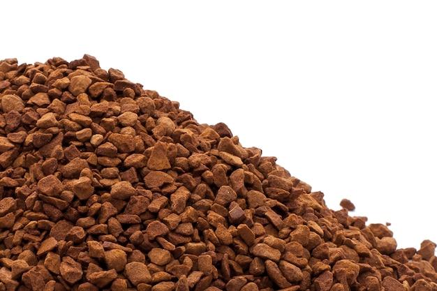 Растворимый кофе вкусной текстуры