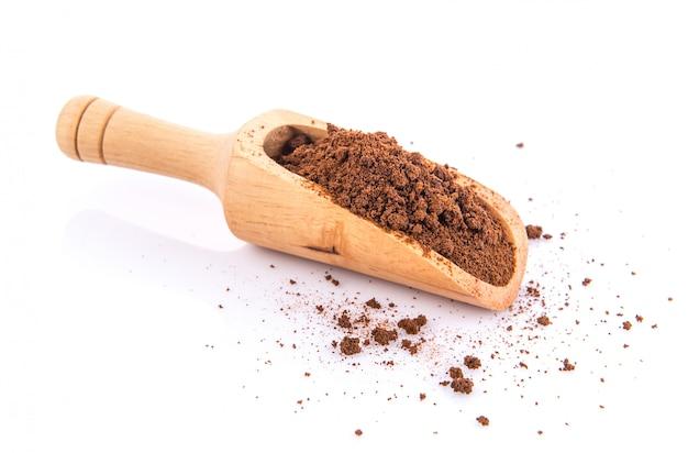 Растворимый кофе в совке