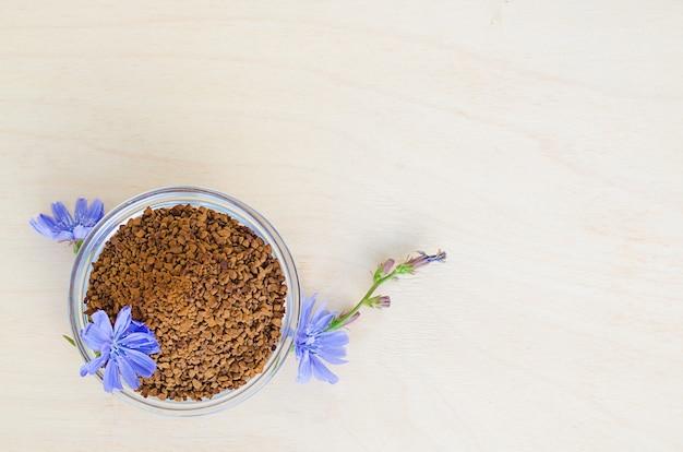 Быстро сублимированные гранулы из корня цикория