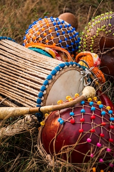 아프리카 카니발 용 도구