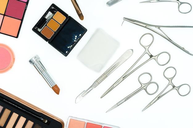 Инструменты для косметической хирургии и косметики косметики