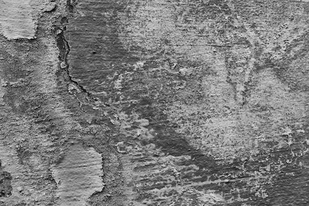 Интересная текстура на поверхности бетонной стены