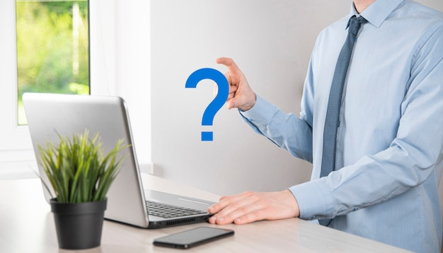 Interface question marks sign web. ask quiestion online, faq concept, what where when how and why