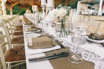 Interior amazing wedding event arrangement