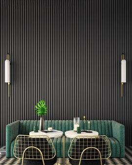 현대적인 스타일의 거실 인테리어 디자인