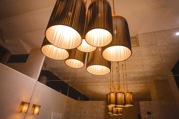Interior design lamps