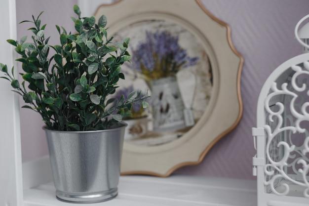 Interior designing. homemade tray and lantern,home decor, cozy room