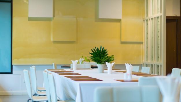 Interior dining area.