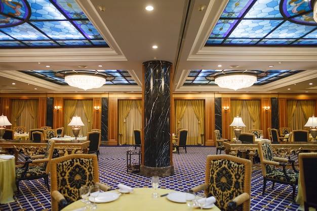 Interior of a five star premium hotel.