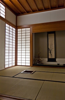 Interior of a japanese room. every details are original