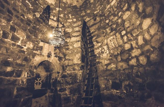 Interior of khor virap monastery