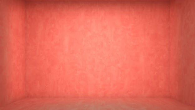 Interior living room pink concrete wall floor template