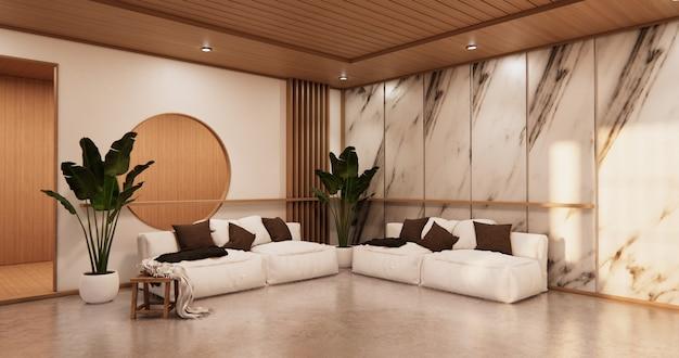 벽 화강암 design.3d 렌더링 인테리어 거실 열대 스타일