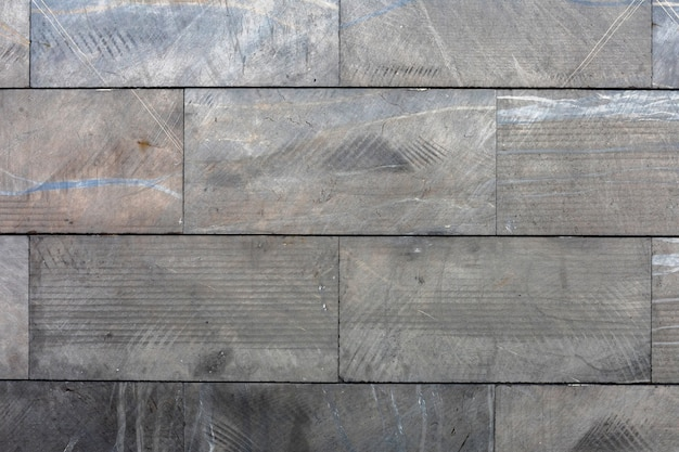 Interior modern wall with grey platelets background