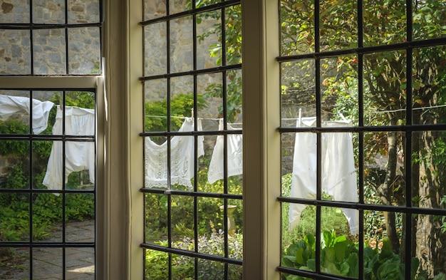 Avebury 영국 영국에서 16 세기 골동품 avebury 매너의 내부