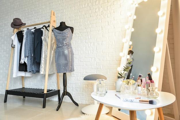 Интерьер современной гардеробной