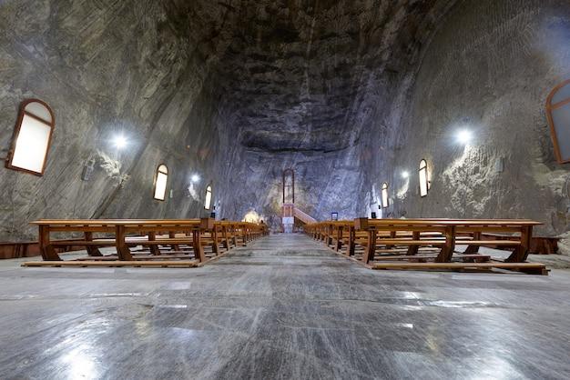 Interior of praid salt mine