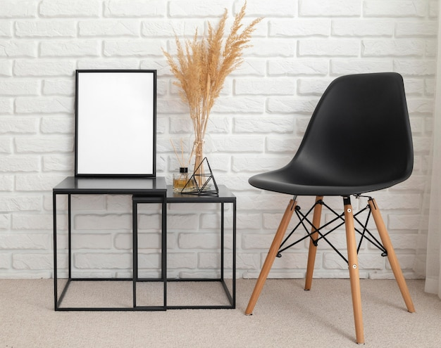 Дизайн интерьера комнаты с копией пространства