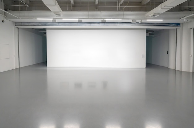 Interior space of art center