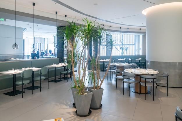 Внутреннее пространство ресторана