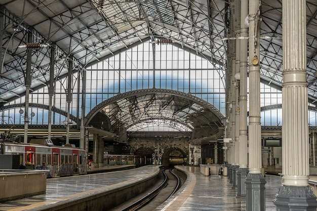 Interior train station