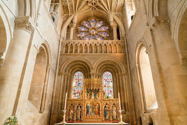 Interior of university church of st mary the virgin.