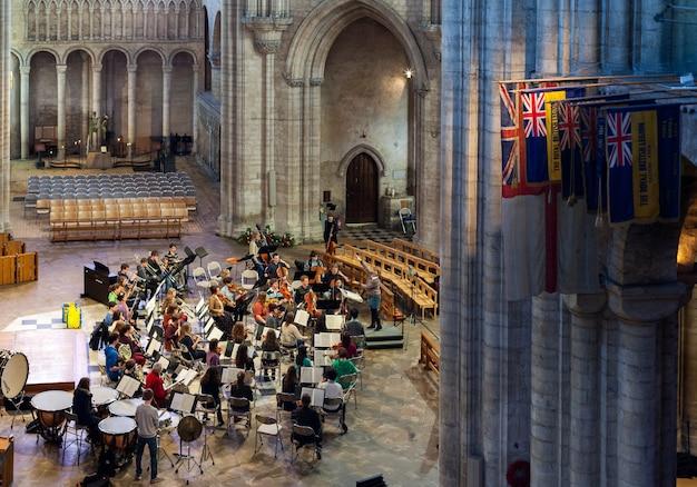 Внутренний вид собора эли