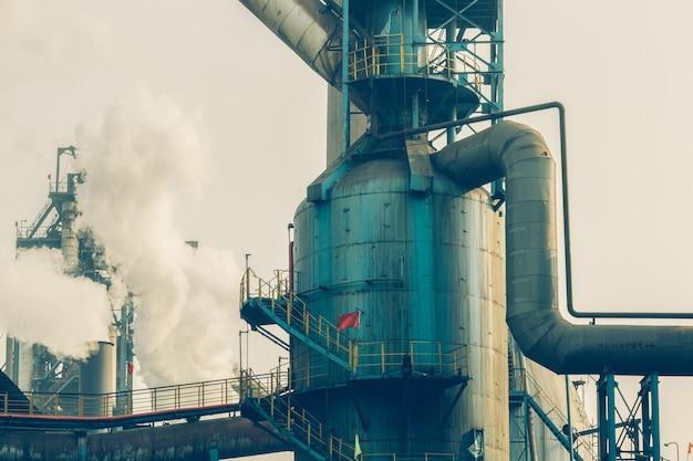 Внутренний вид сталелитейного завода