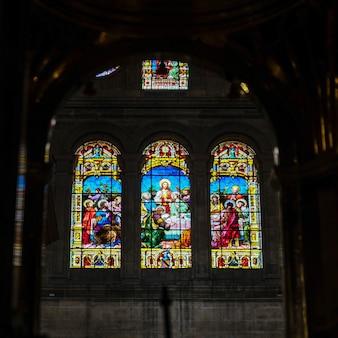 マラガの化身の大聖堂の内部ビュー