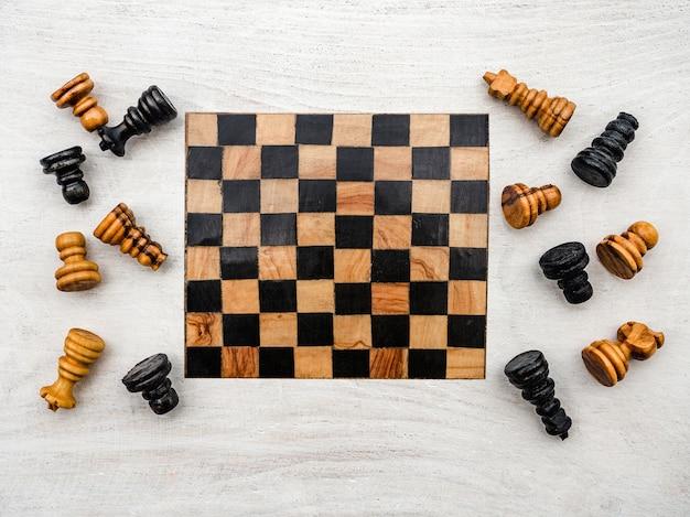 Международный день шахмат. красивая открытка. закрыть