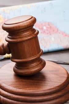 国際司法裁判所の概念。