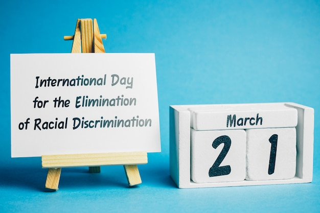 International day for the elimination of racial discrimination of spring month calendar march.