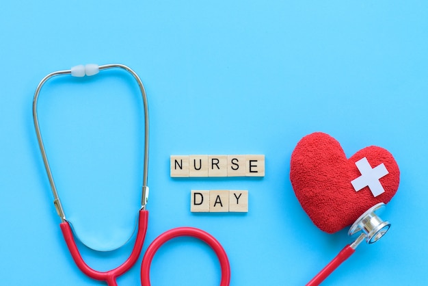 International nurses day, may 12. healthcare concept
