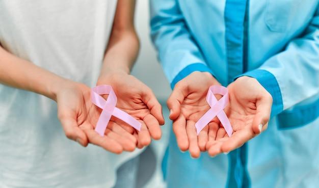 International symbol for october breast cancer awareness month