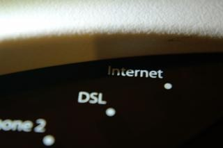 Internet modem, connection