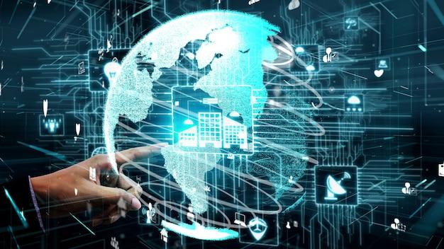 Концептуальный подход к интернету вещей и коммуникационным технологиям