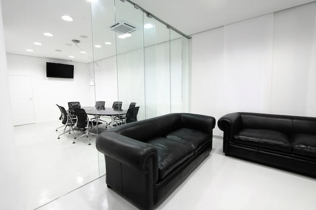 Interor of the modern office
