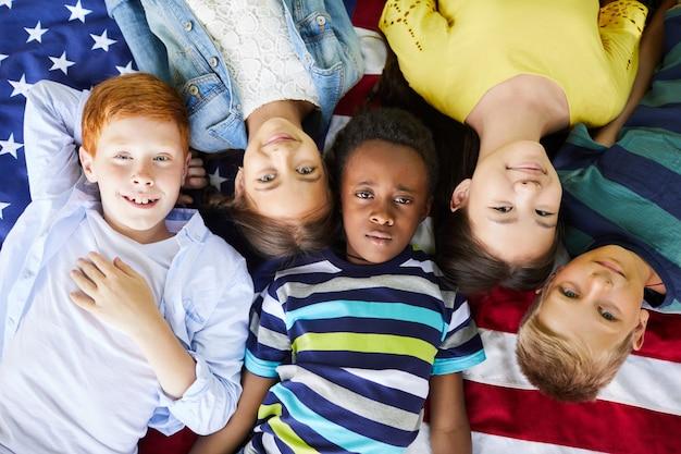 Межрасовые американские дети