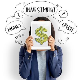 Investimento valuta forex economia commercio concept Foto Gratuite