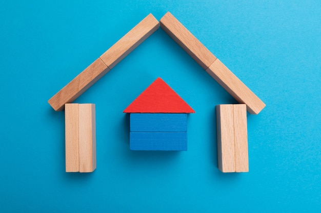 Investment insurance. life and house protection. insurance policy concept.
