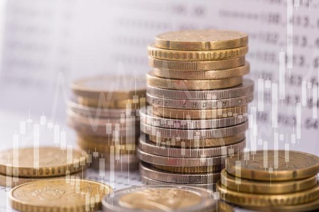 미래의 비즈니스 성공을 위한 투자 자금.