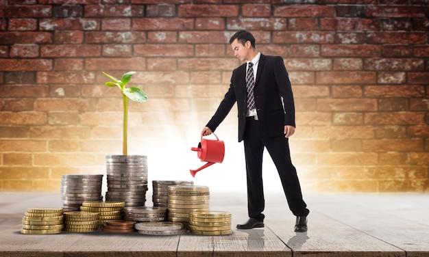 じょうろであなたのビジネスを成長させるためにあなたの予算を投資する