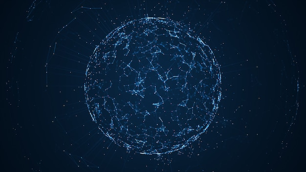 ビッグデータネットワークとiotの図