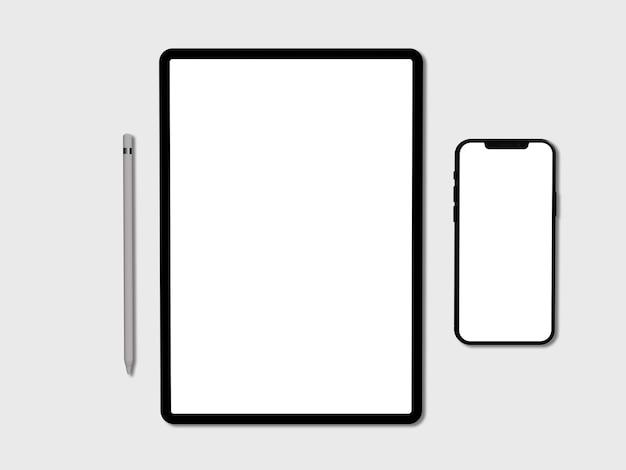 Ipad、空白の画面を持つ電話