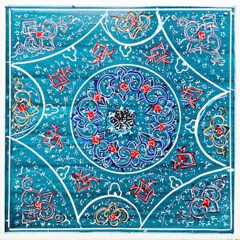 Iranian decorative ceramic tiles