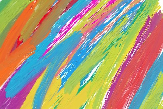 虹色のテクスチャcolorrainbowの色は、石鹸のバブルウォールアートカラーによって作成され、石油からのミックスサインです。