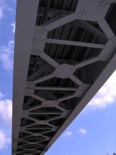 Iron bridge, bridge