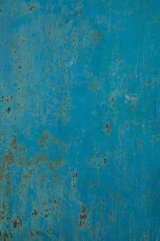 철 금이 블루 오래 된 텍스처