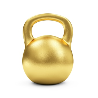 Iron dumbbell isolated on white background. concept of success. sport and recreation concept.