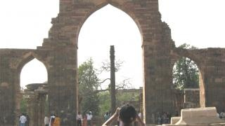 Iron pillar in delhi